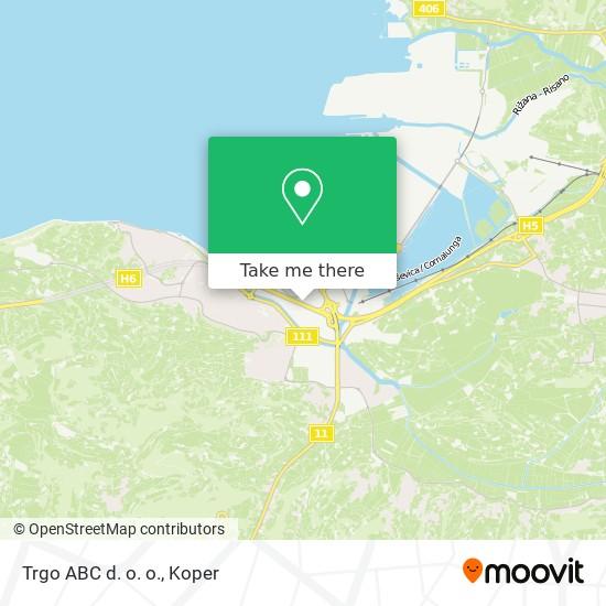 Trgo ABC d. o. o. map