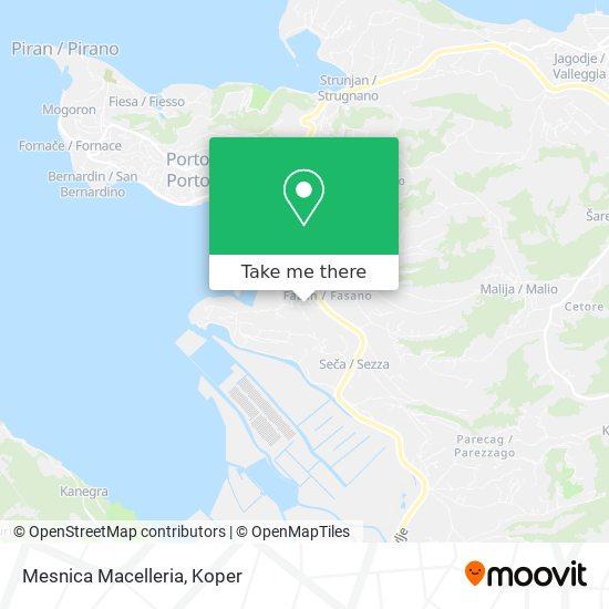 Mesnica Macelleria map