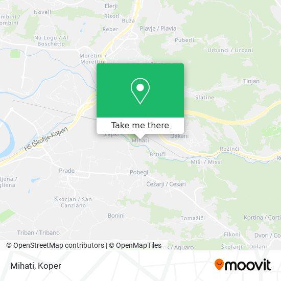 Mihati map