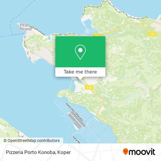 Pizzeria Porto Konoba map
