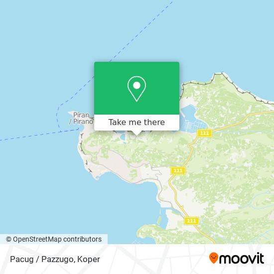 Pacug / Pazzugo map