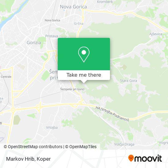 Markov Hrib map