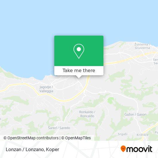 Lonzan / Lonzano map