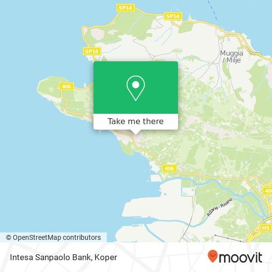 Intesa Sanpaolo Bank map