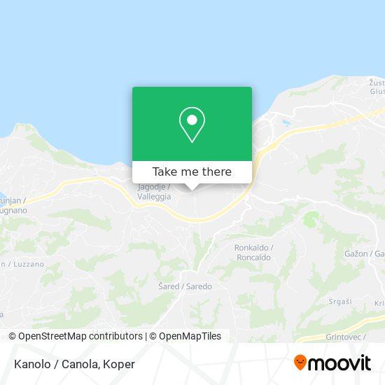 Kanola / Canola map