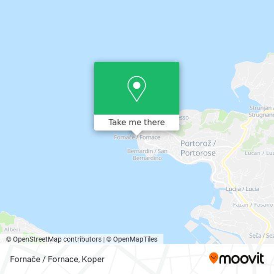 Fornače / Fornace map