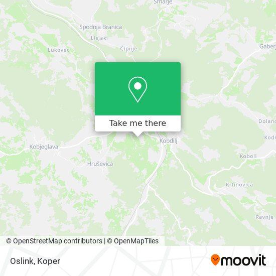 Oslink map