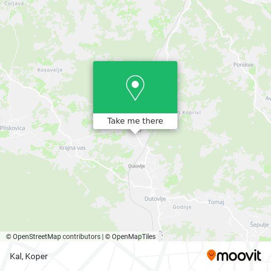 Kal map
