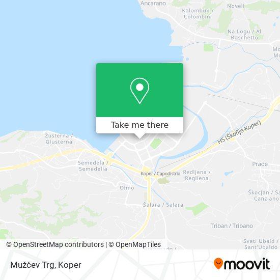 Mužčev Trg map