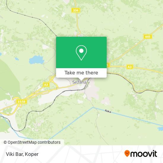 Viki Bar map