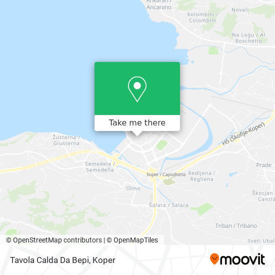 Tavola Calda Da Bepi map