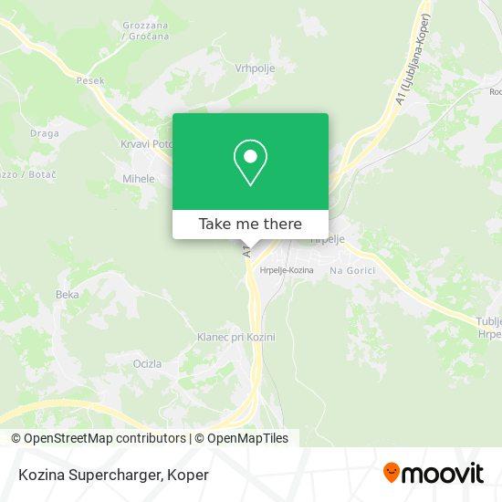 Kozina Supercharger map