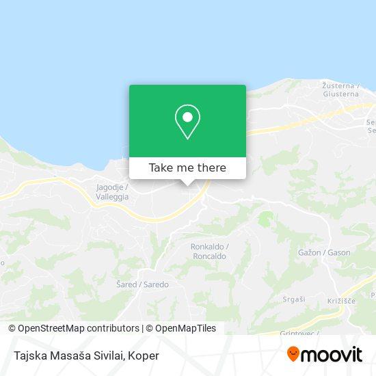 Tajska Masaša Sivilai map