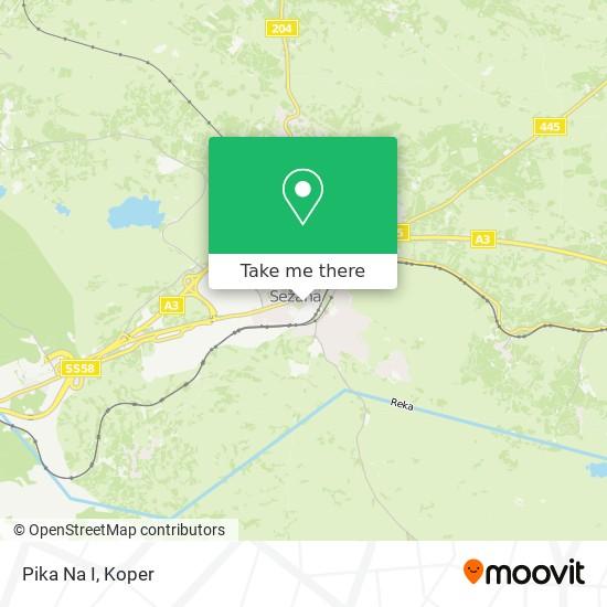Pika Na I map