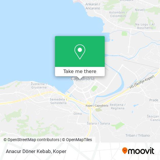 Anacur Döner Kebab map