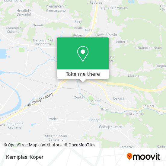 Kemiplas map