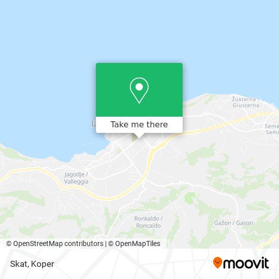 Skat map