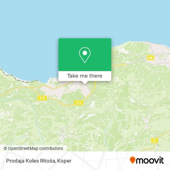Prodaja Koles Ritoša map