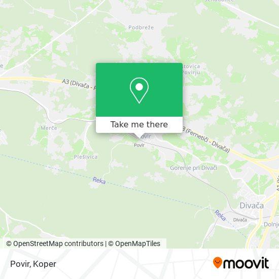 Povir map
