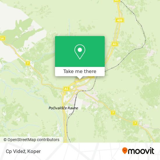 Cp Videž map