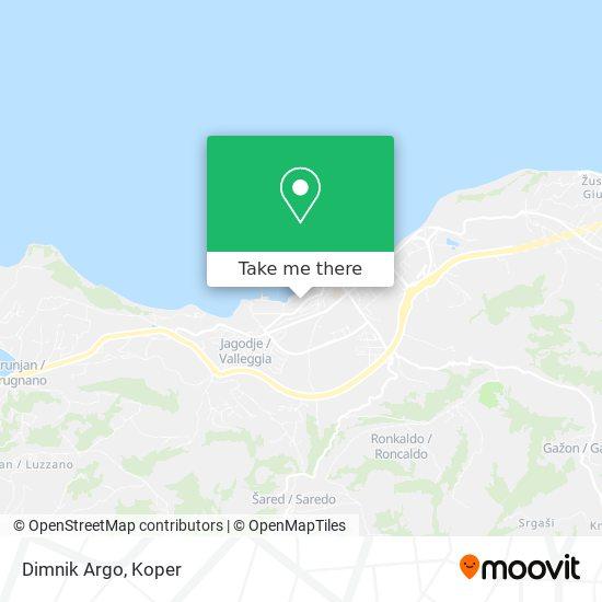 Dimnik Argo map