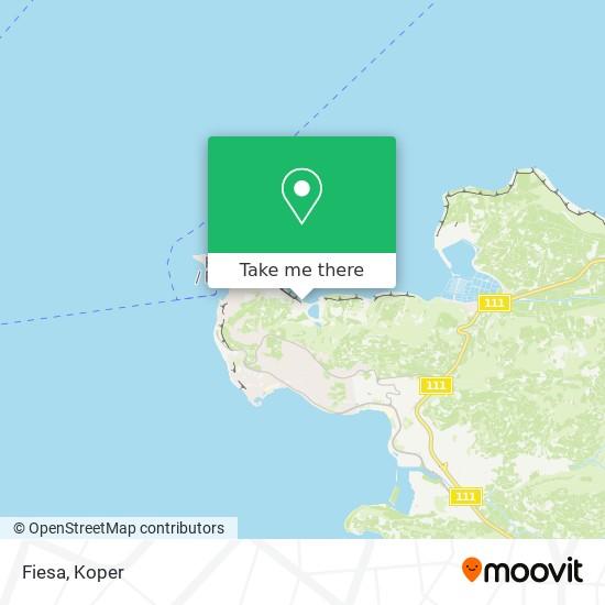 Fiesa map