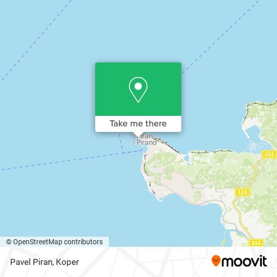 Pavel Piran map