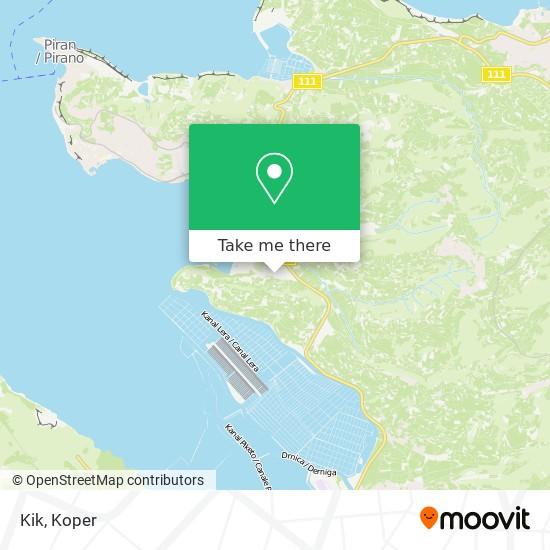 Kik map