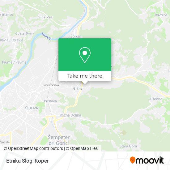 Etnika Slog map