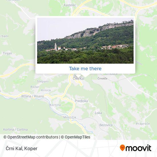 Črni Kal map