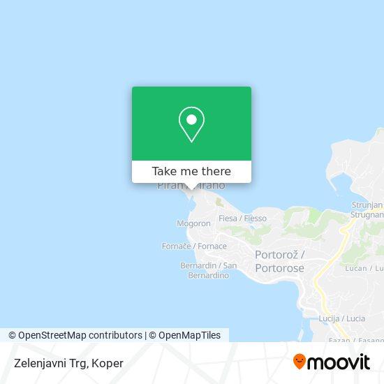 Zelenjavni Trg map