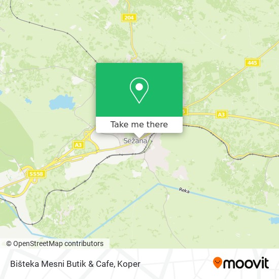 Mesni Butik Bišteka map