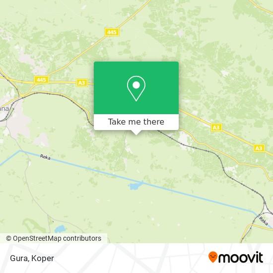 Gura map