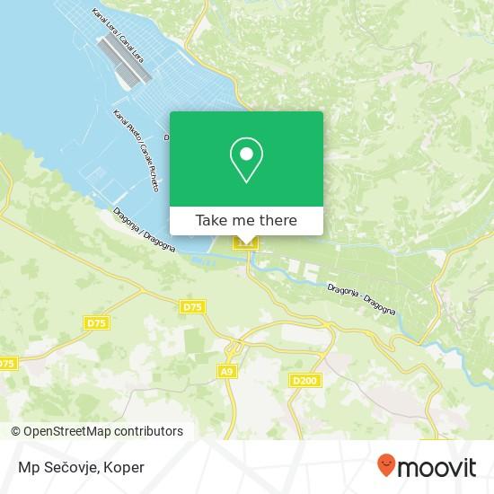 Mp Sečovje map