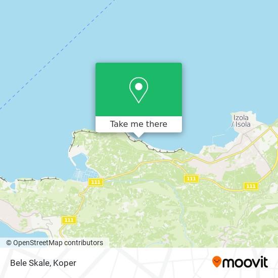Bele Skale map