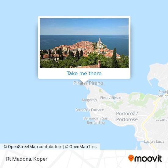 Rt Madona map