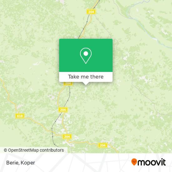 Berie map