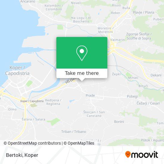 Bertoki map