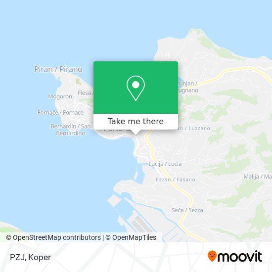 PZJ map