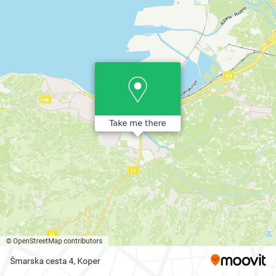 Šmarska cesta 4 map