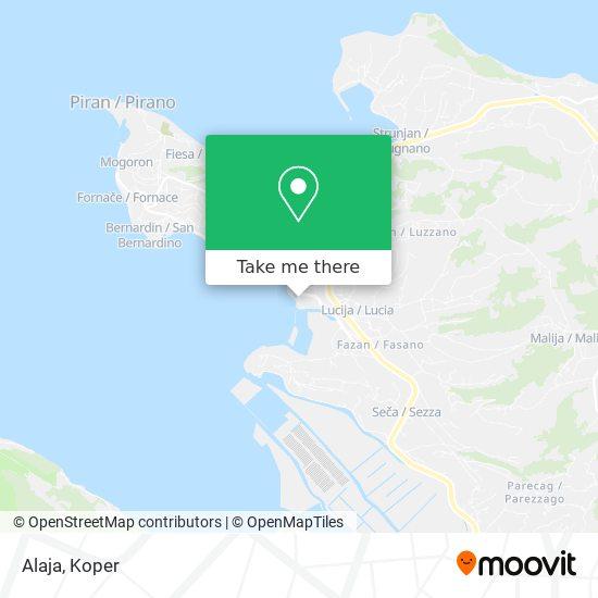 Alaja map
