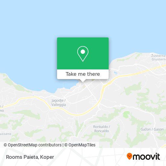 Rooms Paieta map