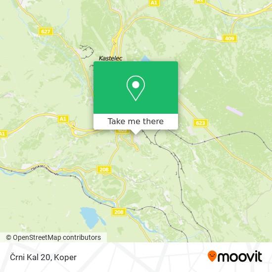 Črni Kal 20 map