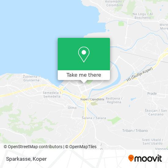 Sparkasse map