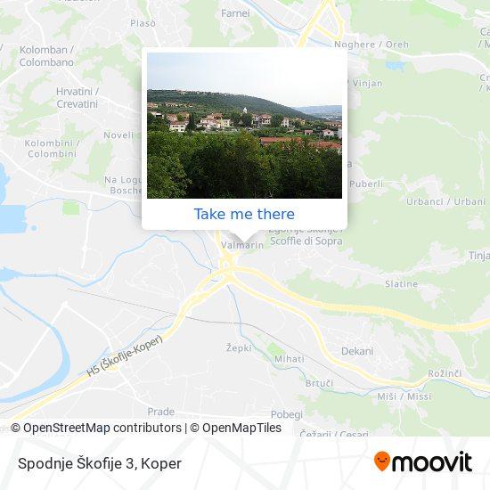 Spodnje Škofije 3 map