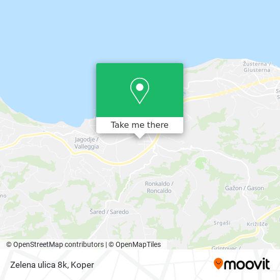 Zelena ulica 8k map