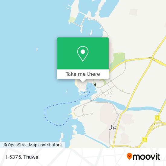 I-5375 map