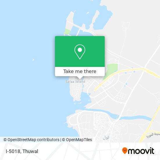 I-5018 map