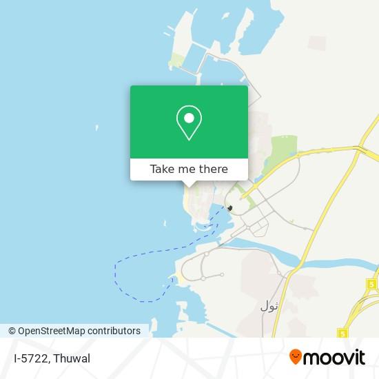 I-5722 map