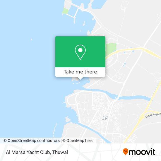 Al Marsa Yacht Club map
